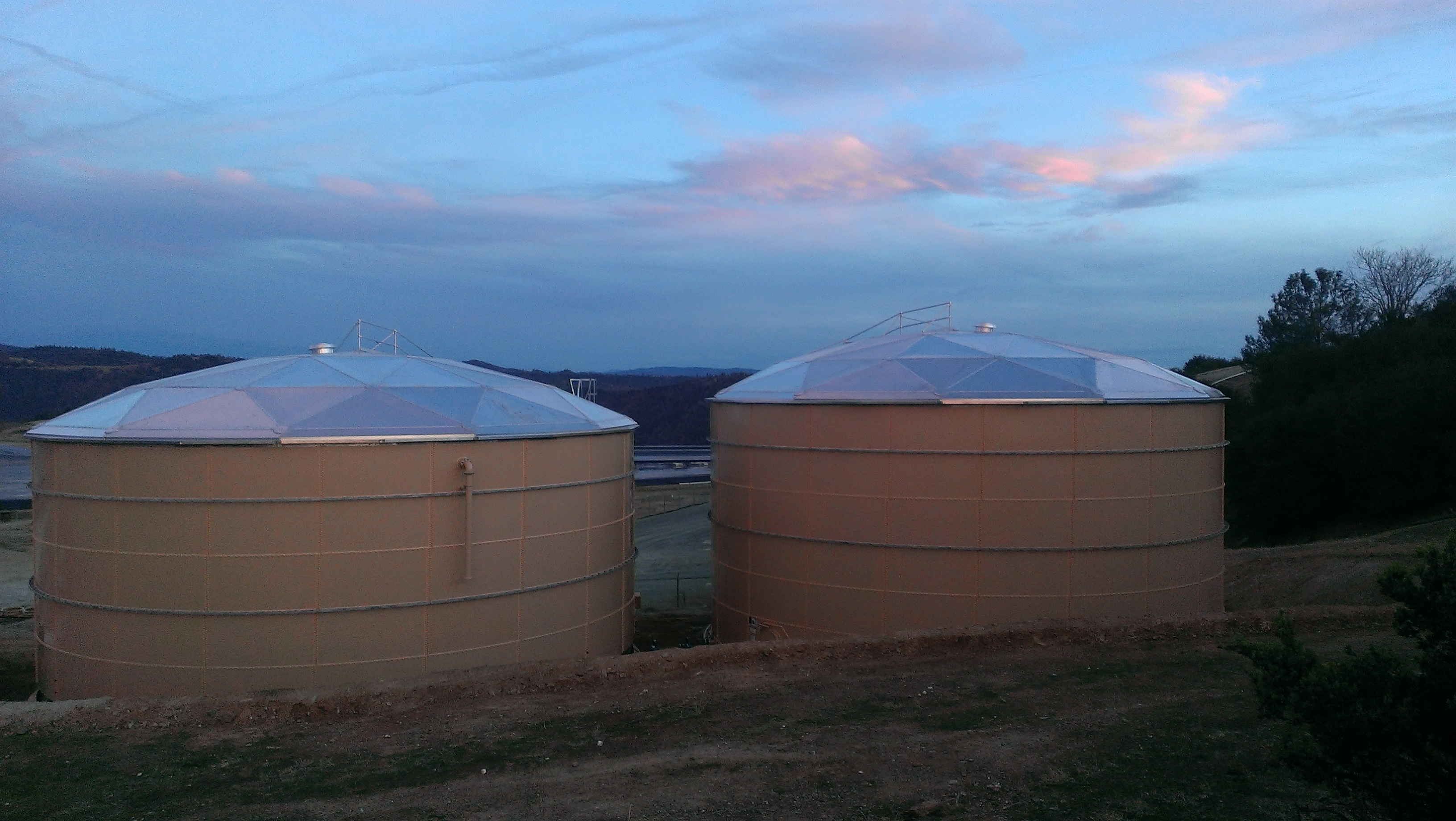 Angels Camp Water Tanks