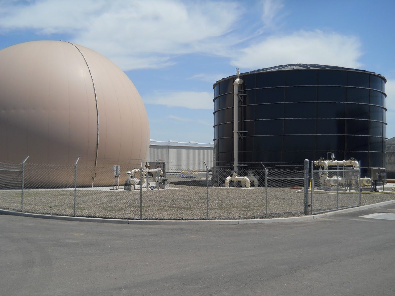Merced digester - California Aquastore